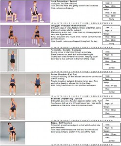 7 Best Desk Exercises Page 1