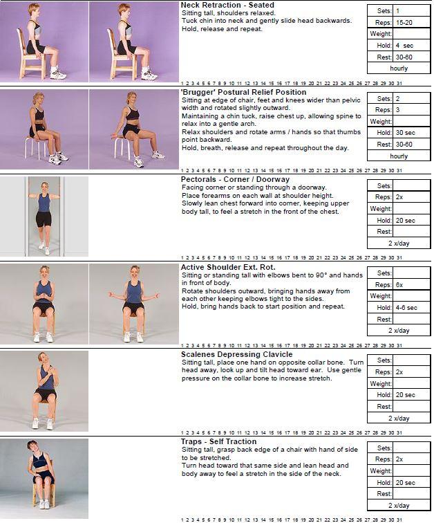 Best Desk Exercises For Posture 1